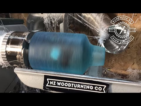 Woodturning - Pirate in a bottle