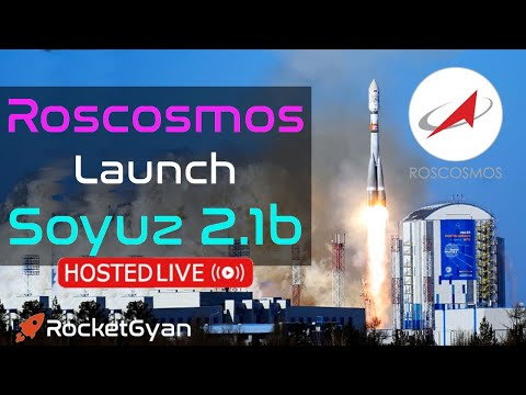 """[Liftoff 42:38] Roscosmos Launch Soyuz 2.1b LIVE 