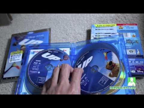 0 Unboxing Finding Nemo 3D & Up 3D Blu ray