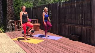 Move Your Asana® Fitness.Yoga. - Warm Up Part II