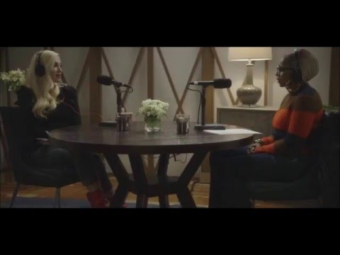 Gwen Stefani on Mary J. Blige's Real Talk, January 10, 2016