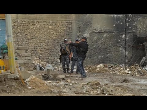 Video ISIS holding off Iraqi forces in brutal fight for west Mosul download in MP3, 3GP, MP4, WEBM, AVI, FLV January 2017