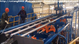 Video Fully automatic galvanizing plant for steel tube pipe MP3, 3GP, MP4, WEBM, AVI, FLV Juni 2018
