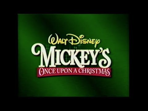 MICKEY'S ONCE UPON A CHRISTMAS MOVIE TRAILER [VHS] 1999