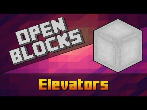 OpenBlocks - Elevators