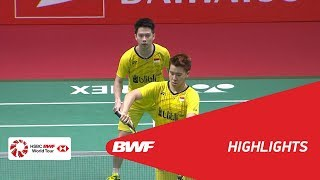 Video DAIHATSU Indonesia Masters 2018 | Badminton MD - F - Highlights | BWF 2018 MP3, 3GP, MP4, WEBM, AVI, FLV Mei 2018