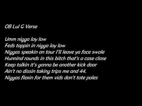 "DC YounYBN Nahmir Feat. SOB Lul G ""Popped Up"" (Lyrics)"
