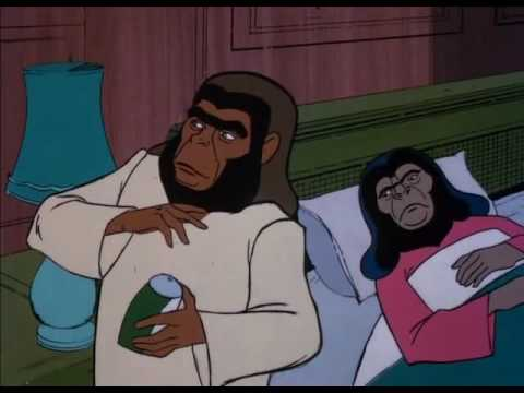 Return to the Planet of the Apes (Cartoon) 10