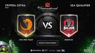 TNC Pro Team vs BOOM ID, The International SEA QL [4ce, Lex]