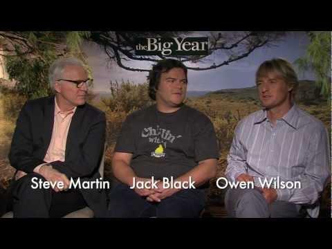 Audubon's David Yarnold Interviews Big Year Cast (Steve Martin, Jack Black, & Owen Wilson)