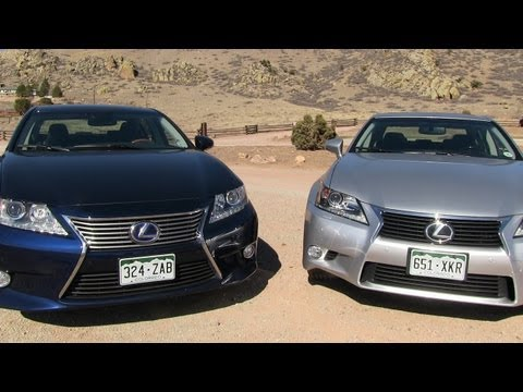 2013 Lexus ES vs GS 0-60 MPH Mashup Review: What's the best new Lexus sedan?