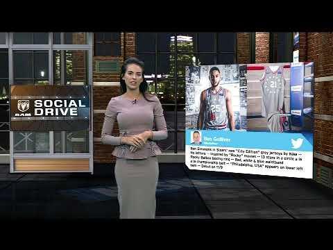 Video: Ram Social Drive: Aaron Gordon's Clever Costume; 76ers New Uniforms