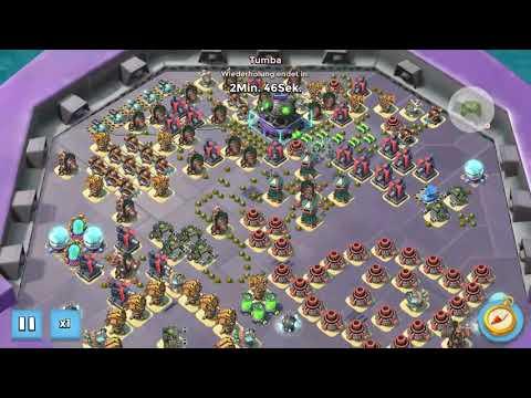 Boom Beach - Mega Crab - Stage 42, 43 Solo, 44 (видео)