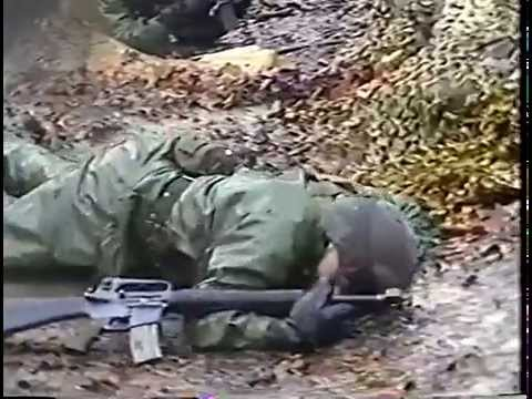 Ft. Knox Basic Training Video - E Co., 2/46th Infantry - January 1995