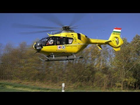 Mentőhelikopter vitte el a segesdi baleset sérültjét