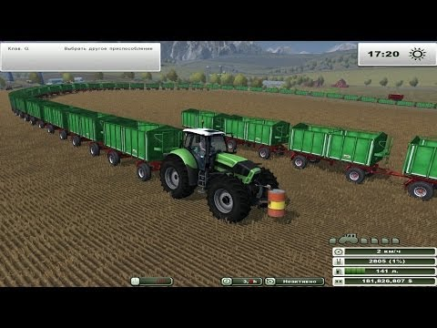 Farming Simulator 2013 101 Trailers HD