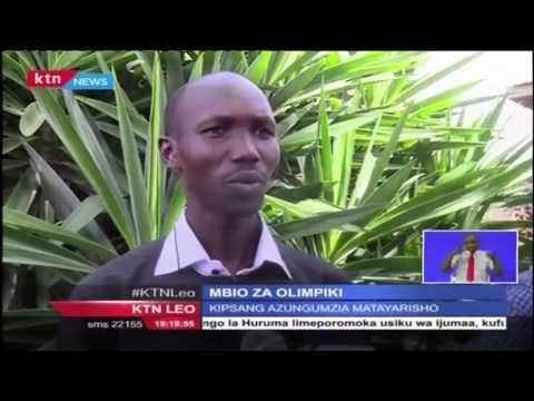 Wilson Kipsang' atarajia kuwakilisha Kenya katika mbio za olimpiki huko Rio