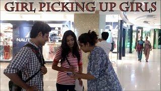 Cute Girl Picking Up Girls | Awkwardness Unlimited