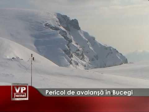Pericol de avalanşă în Bucegi