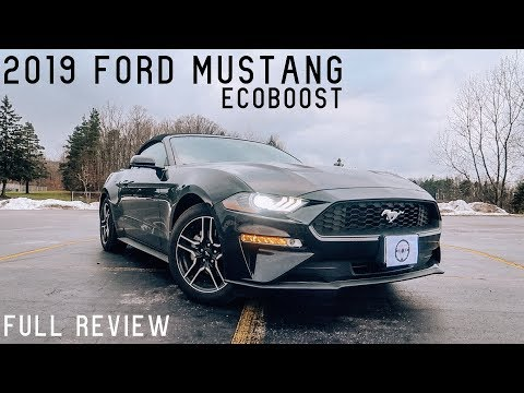 2019 Ford Mustang EcoBoost | Full Review & Test Drive