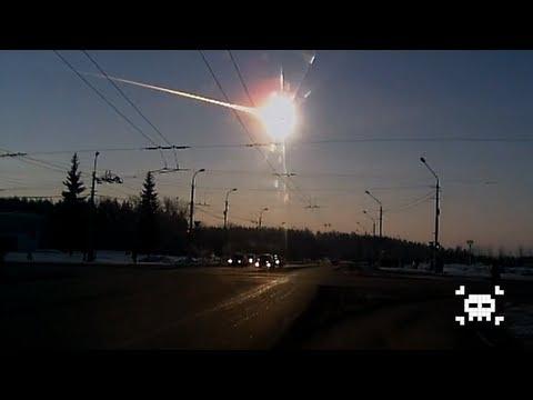 Russian Meteor 15-02-2013 (Best Shots) [HD] (видео)