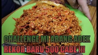 Video REKOR BARU 500 CABE ABANG ADEK ! USUS BUNTU ? - CHALLENGE MP3, 3GP, MP4, WEBM, AVI, FLV November 2017