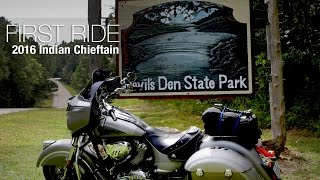 1. 2016 Indian Chieftain First Ride Review - MotoUSA