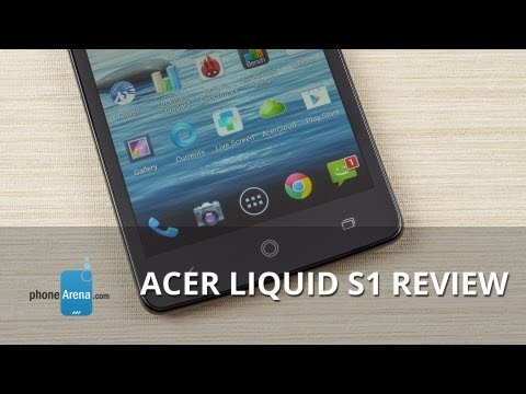 Acer Liquid S1 Review