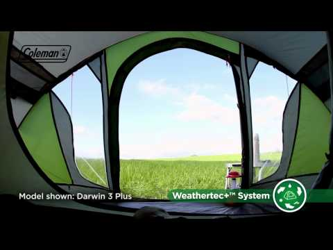 Coleman Darwin 4 Plus tent 2017 model & Coleman Darwin 4 Plus tent 2017 model | Tents | Camping Rocks ...