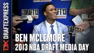 Ben McLemore - 2013 NBA Draft Media Day Interview