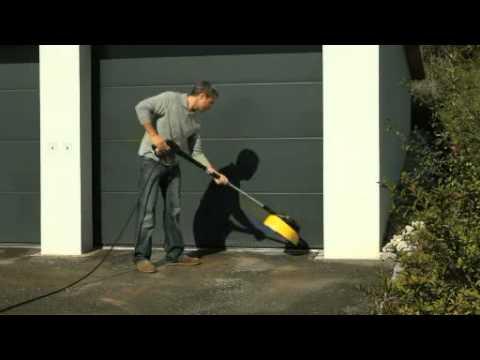 Curatarea garajului cu turbojetul Karcher K7 Premium Eco!ogic Home