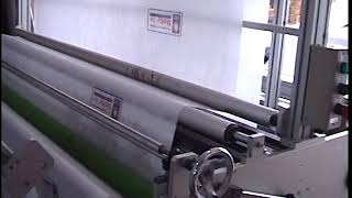 Non Woven Headrest Cover Making Machine HY300-02 youtube video