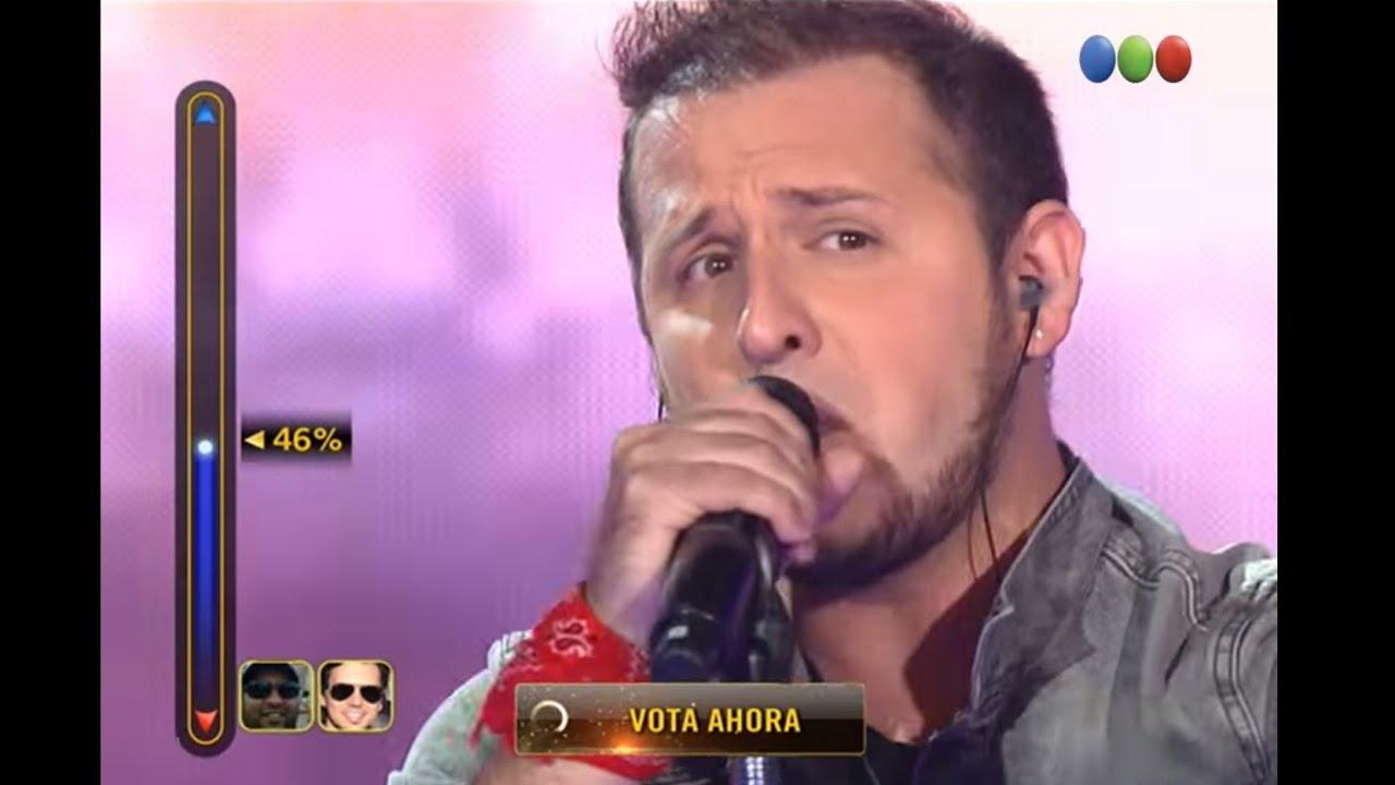 "Repechaje: Matías Albertengo canta ""Livin' on a prayer"" – Elegidos"