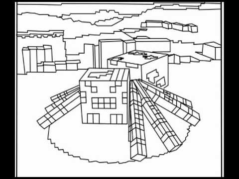 Minecraft Village Coloring Pages Minecraft Coloring Pages