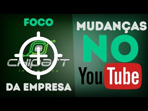 Chipart - ‹ A e J Responde! › FOCO DA EMPRESA! MUDANÇAS DO YOUTUBE!