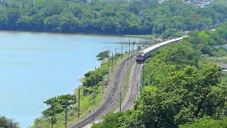 Chennai India  city photos gallery : Beautiful TRAIN Route in Chennai, India - Indian Railways