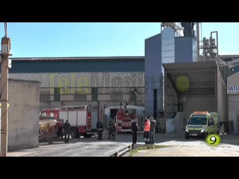 Accidente laboral en Medina del Campo/ Tele Medina Canal9