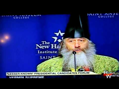 Vermin Supreme Wizard Presidential Candidate