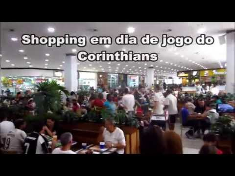 V�DEO: Veja como fica o Shopping Itaquera em dia de jogo do Corinthians