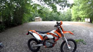 1. 2016 350 Exc-f one year of riding quick review