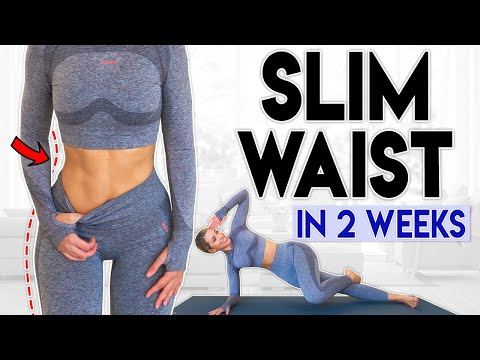 SLIM WAIST in 2 Weeks | 5 minute Home Workout
