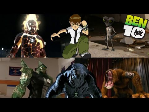 Ben 10 Aliens in real life Transformation's || Alien Swarm And Race Against Time