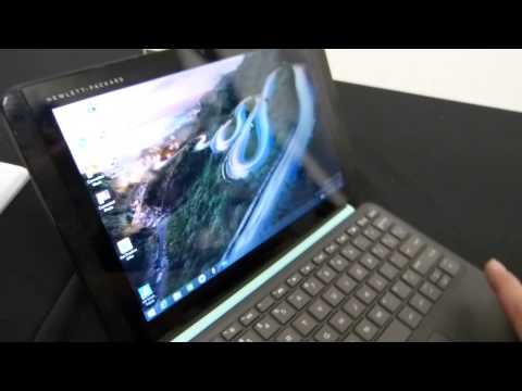 HP Pavilion X2 Hands On (10-inch Windows 8 Tablet)