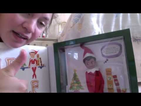 unboxing OF MY ELF ON THE SHELF FROM THE NORTH POLE FROM SANTA! (видео)