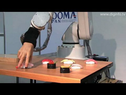 Sushi Making Robots!