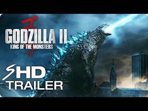 GODZILLA 2: King of the Monsters - Teaser Trailer Concept #1 (2019) Action Movie