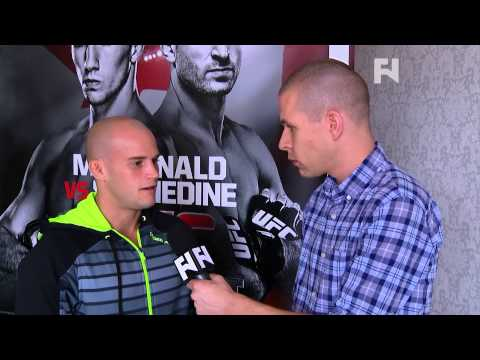 """UFC Fight Night 54: Mitch Gagnon - """"I Love The Atmosphere"""""""