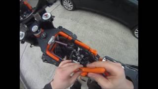 4. Valve clearance ajdustment on KTM 690