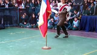 Baile a la bandera 2017 Colegio Alcántara Peñalolén