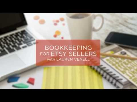 Bookkeeping for Crafters with Lauren Venell
